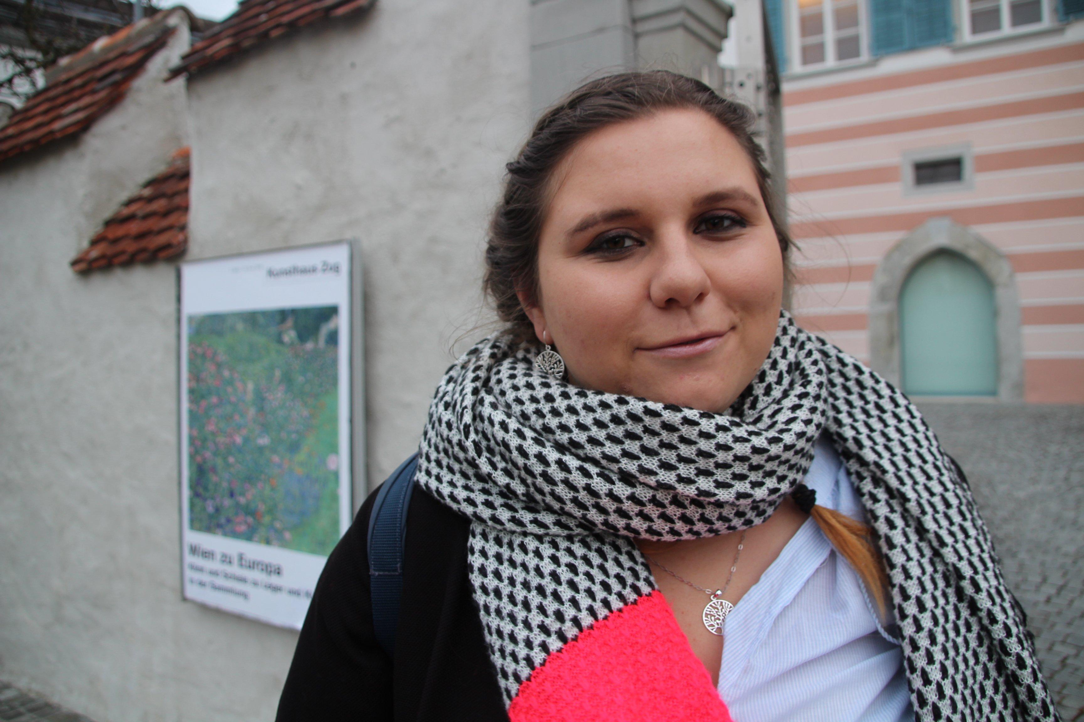 Virginia Köpfli hat schon als Kind mit ihren Eltern oft das Zuger Kunsthaus besucht.