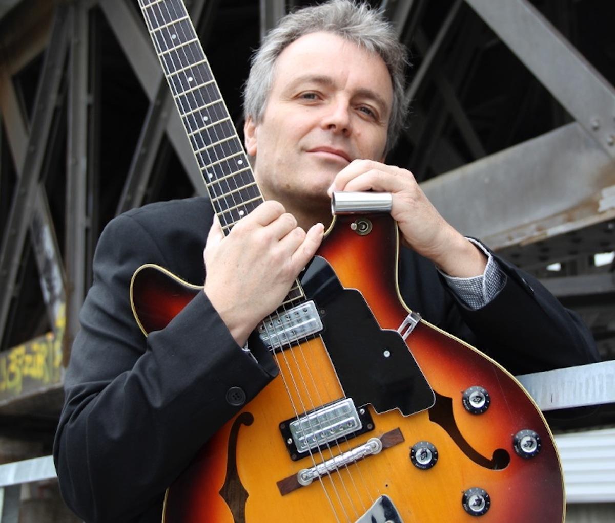 Der Blues macht ihn melancholisch: Richard Koechli.