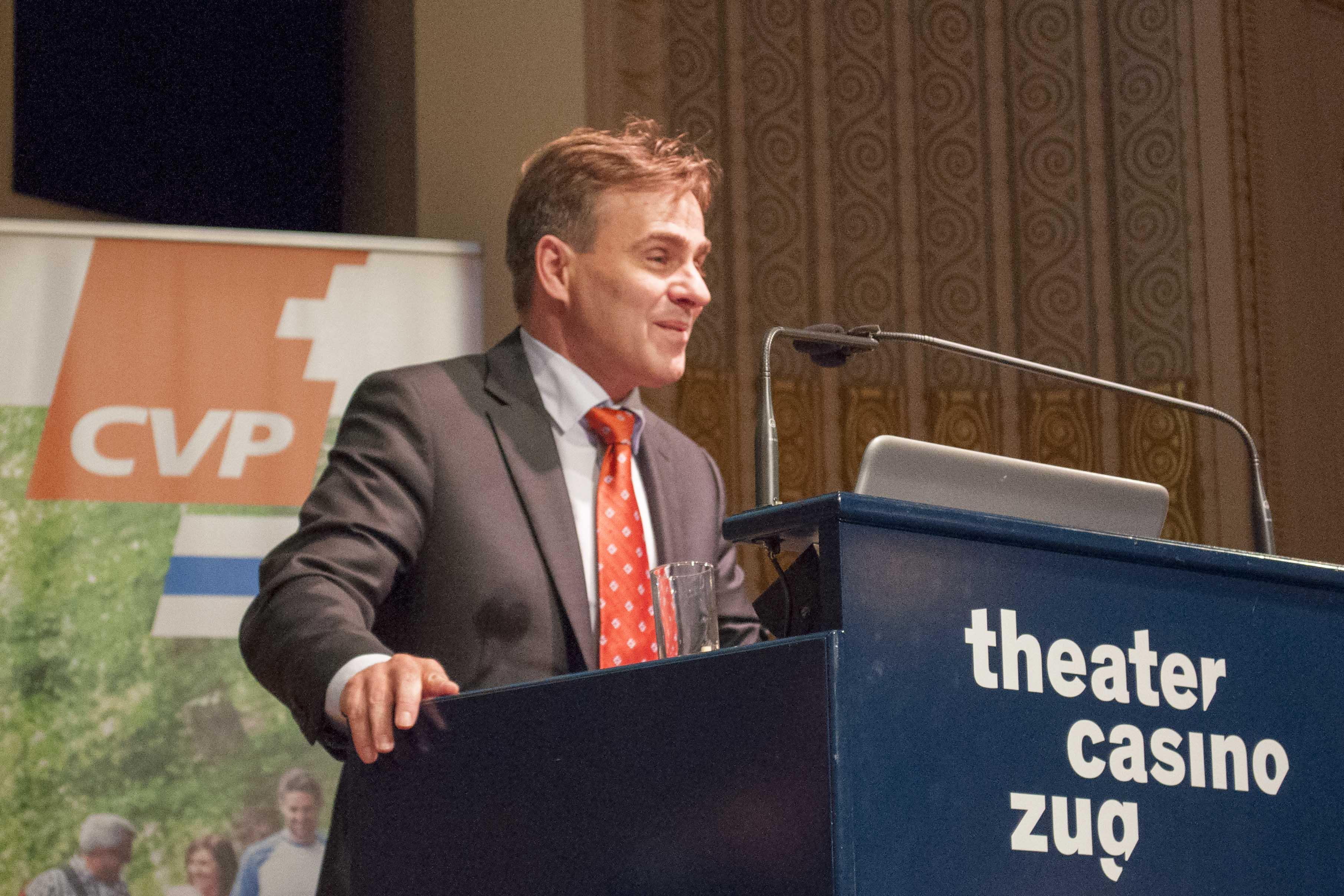 Staatsanwalt Thomas Rein: Der Christdemokrat aus Steinhausen will Richter werden.