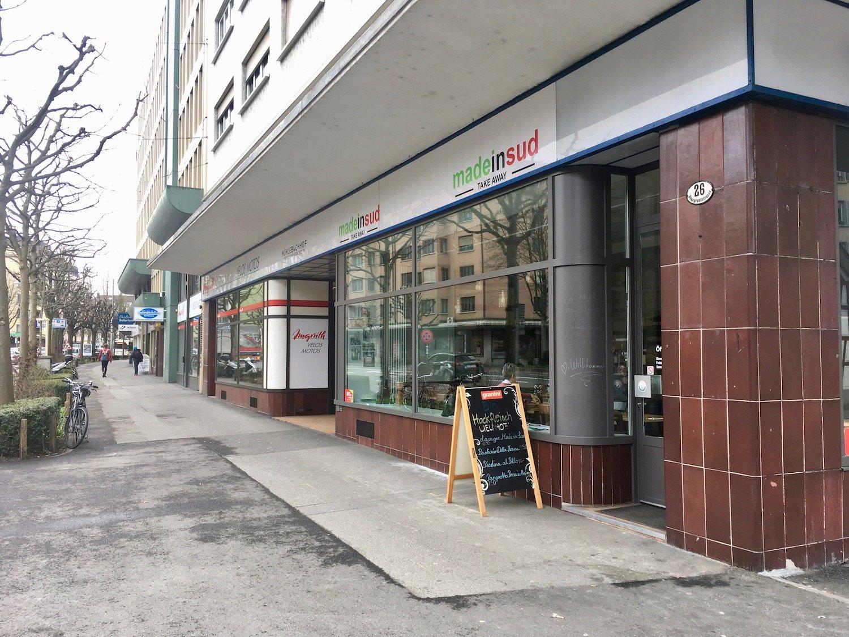 Das «Made in Sud» an der Obergrundstrasse gleich beim Pilatusplatz.
