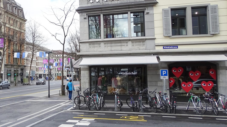 Die neuste Filiale war nicht geplant: An der Pilatusstrasse 25 betreibt Gränicher den Concept Store P25.