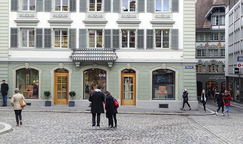 Mehr Raum für die Frauenmode: Am Weinmarkt hat sich Gränicher auf drei Etagen ausgebreitet.