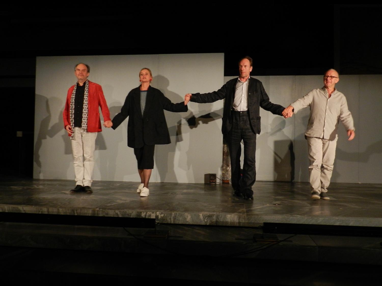 Ingo Ospelt, Annette Wunsch, Bodo Krumwiede und Pudi Lehmann. (v.l.n.r.)