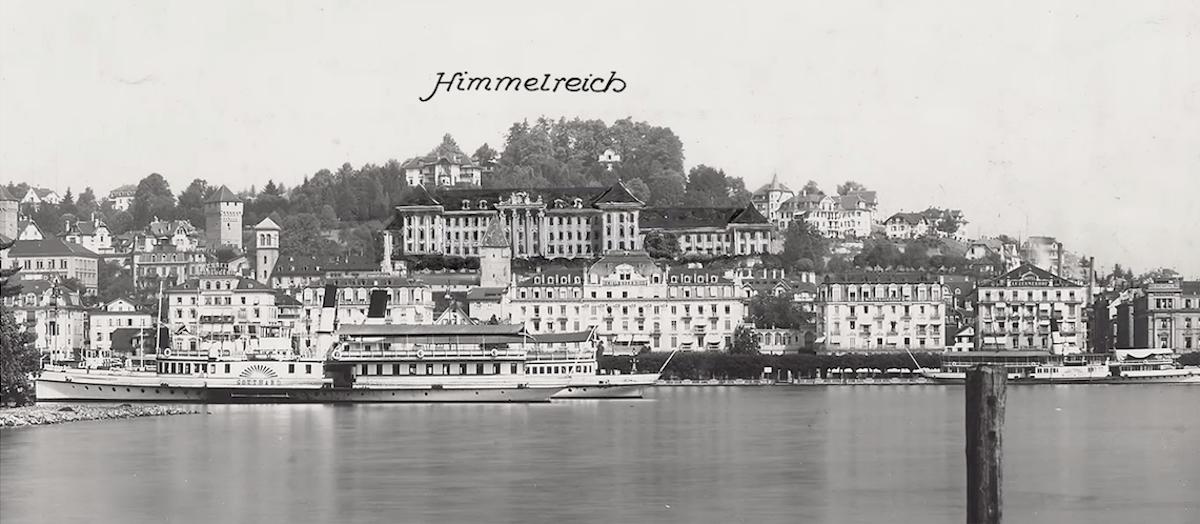So könnte Luzern auch aussehen: Das Projekt «Himmelreich».