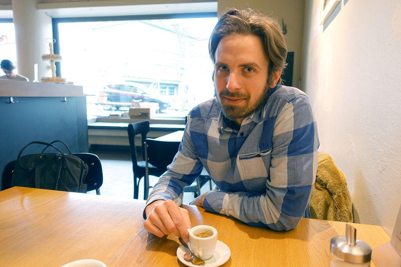 «Wie ein pubertierendes Kind, das alles aufsaugt»: Musiker Timo Keller.