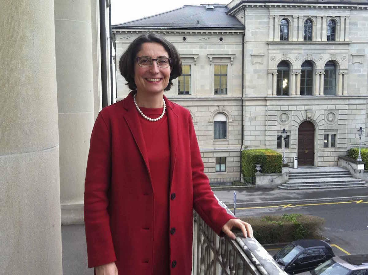 Frau Landammann und Regierungsrätin Manuela Weichelt.