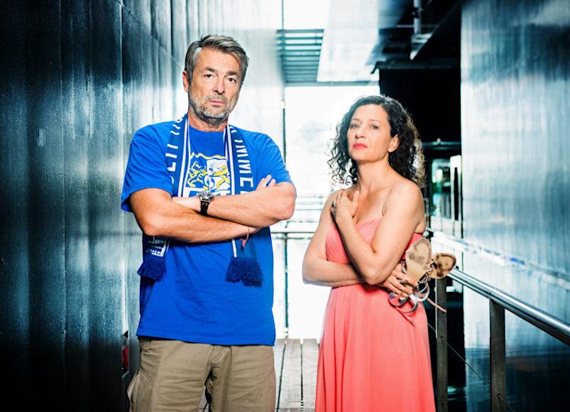 Im Mai im KKL zu erleben: die Luzerner Tatort-Kommissare Stefan Gubser und Delia Mayer.