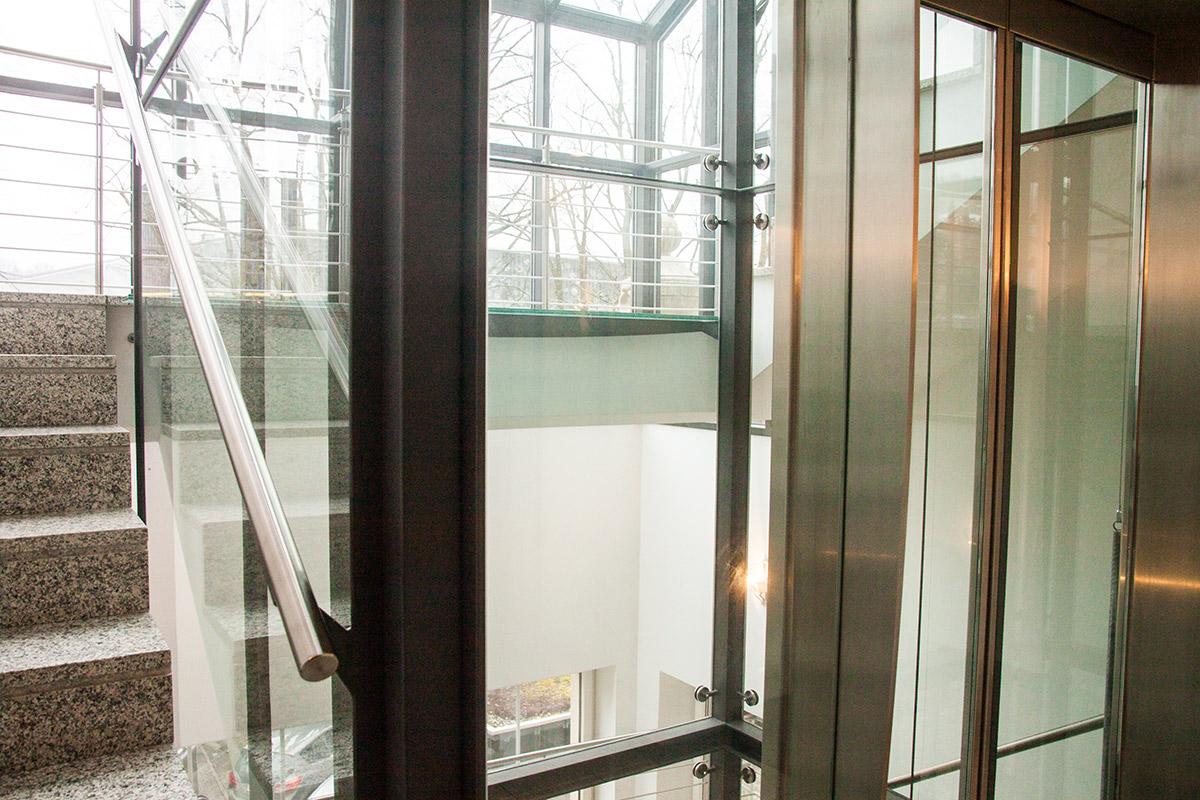 Das Gebäude wurde im Innern komplett erneuert und mit einem Lift ausgestattet.