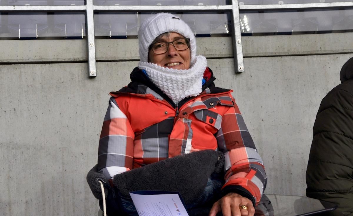Gisela Simon verpasst kein Heimspiel des FC Luzern.