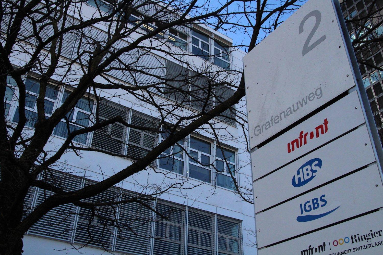 Geschichte und Name sind bei Infront Sports & Media ähnlich wechselhaft. Standort ist seit längerer Zeit die Grafenau in Zug.