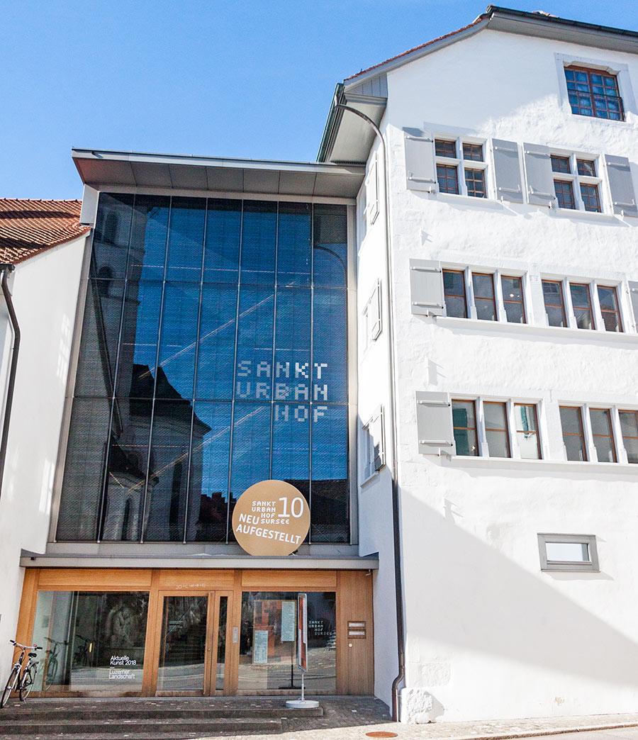 Zwischen alt und neu: Das Museum Sankturbanhof in Sursee.