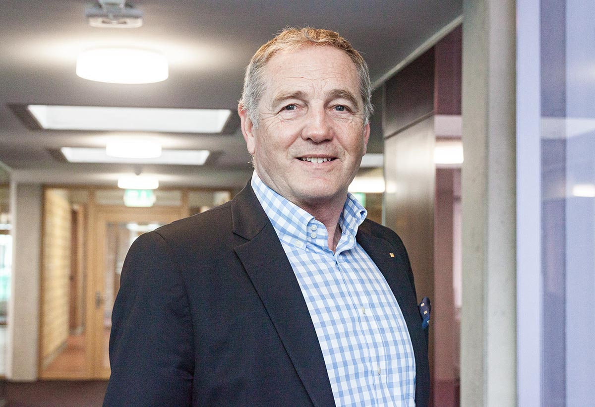 Ruedi Burkard ist seit 2016 Gemeindepräsident von Horw.