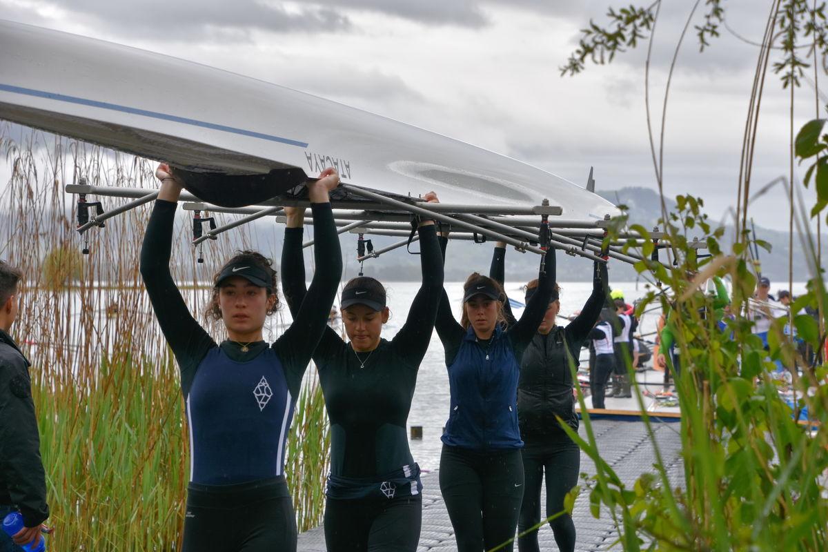 Sind im Moment leicht in der Überzahl. Die sehr erfolgreichen Frauen des Seeclubs Zug.