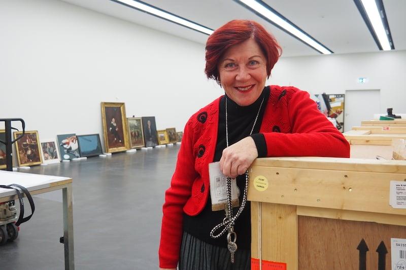 Ruth Mühle hat den Überblick über alle Codes und Schlüssel.