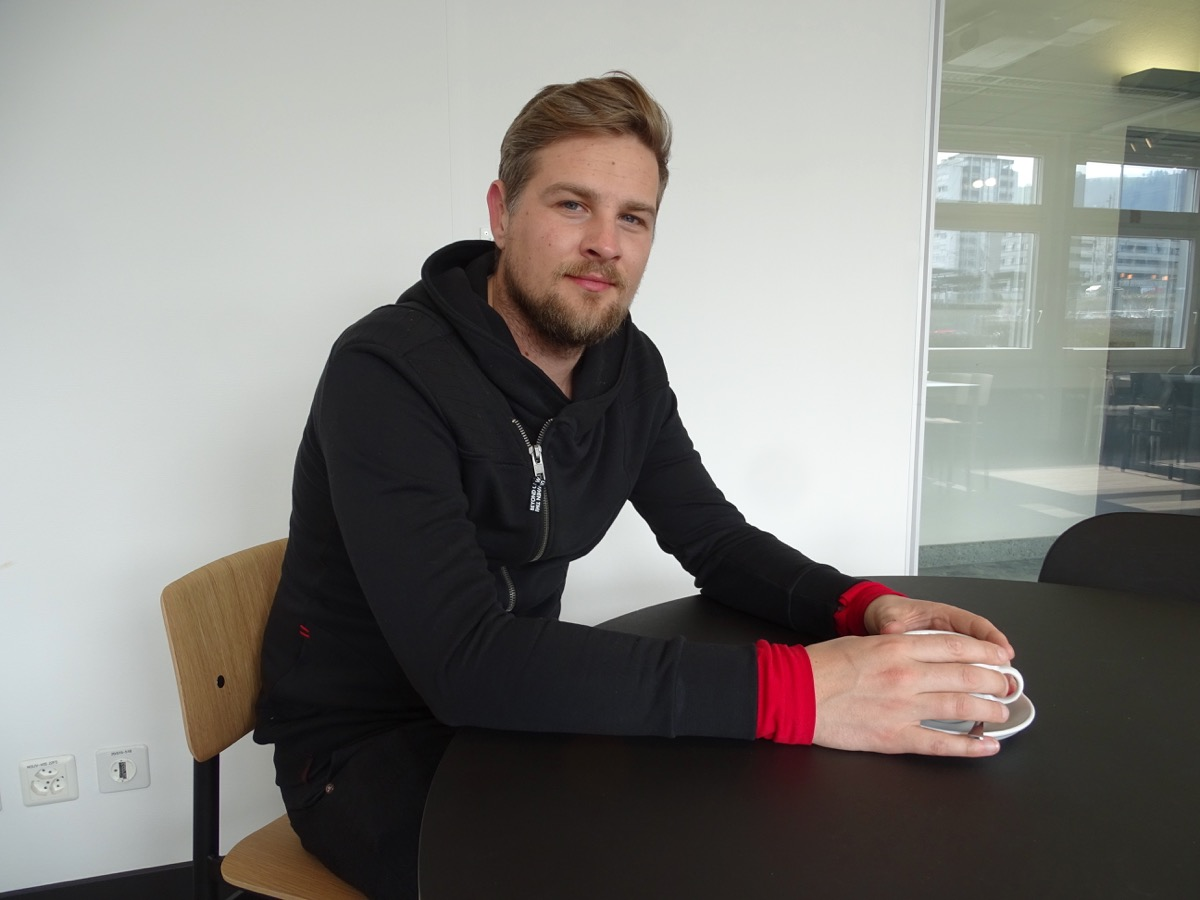 Joost Toornend kommt aus Holland. Das Startup My Bit, für das er arbeitet, testet derzeit die Alphaversion seines blockchainbasierten Produkts.