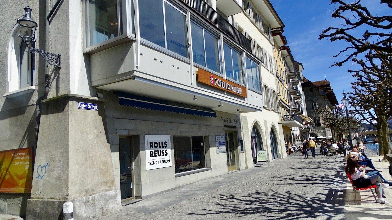 Hier wird Hans P. Wanner künftig den Fonduekäse auch verkaufen: Die Boutique im Erdgeschoss des Fondue House «Du Pont».