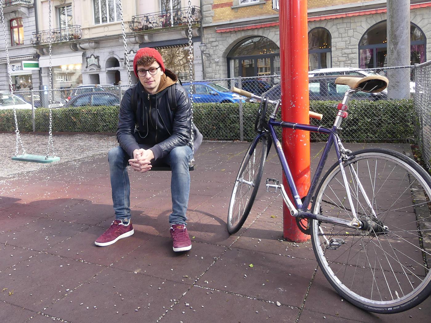 «Jetzt mache ich gerade Musik und erlebe nichts», sagt Sänger Tizian von Arx.