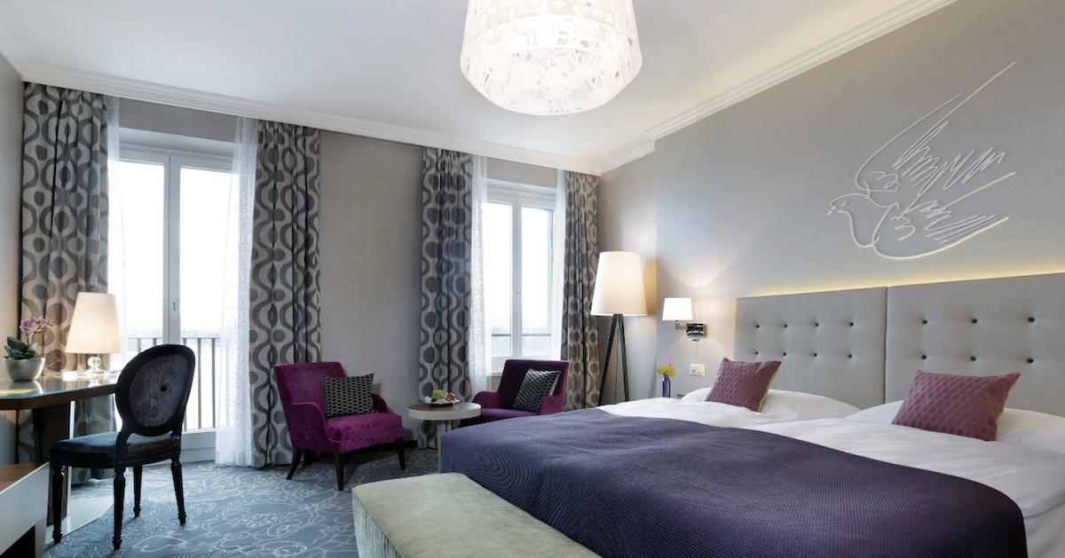 Kostet 640 Franken pro Nacht: das typgleiche Erni-Zimmr im Hotel Schweizerhof Luzern.