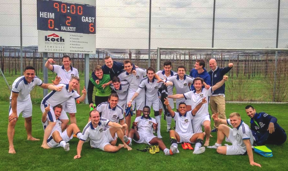 Die Mannschaft des FC Inter.