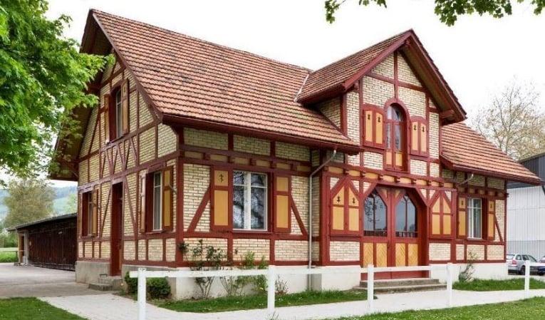 In diesem Riegelhaus ist nun auch der FC Inter Altstadt untergebracht.