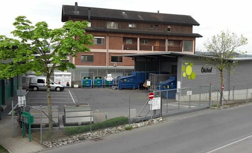 Der Ökihof in Steinhausen.