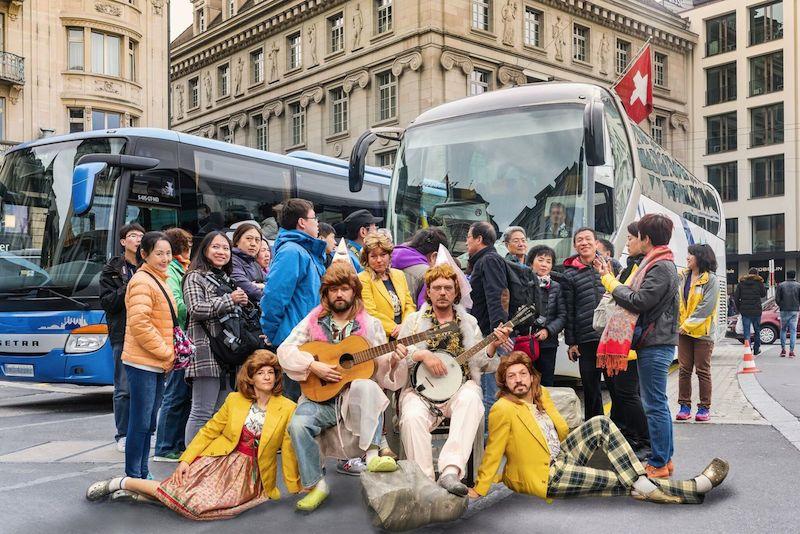 «Visit Pyöngyang!» nimmt das neurotische Verhältnis der Luzerner mit ihren Touristen auseinander.