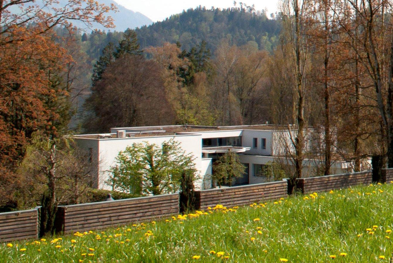 Daniel Vasellas Villa gleich neben dem Landgut Aabach, jetzt im Besitz seines Sohnes.