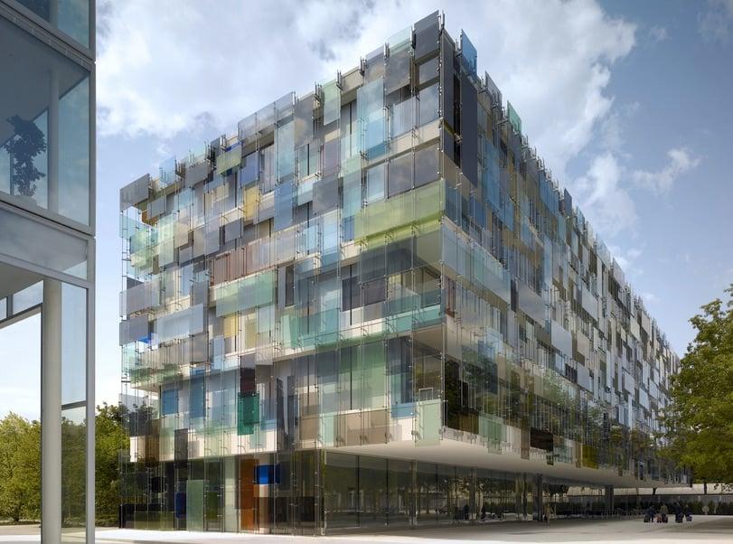 Diener-und-Diener-Bau: Novartis Campus 3 in Basel.