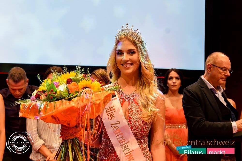 Fabienne Paglia wird im September 2017 zur «Miss Zentralschweiz» gewählt.
