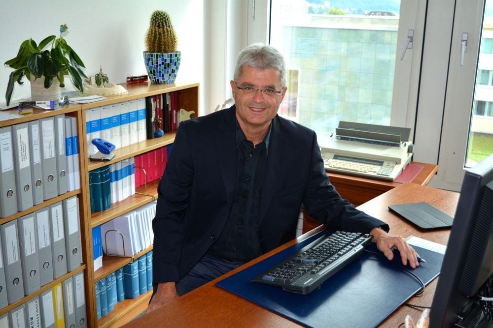 Gianni Bomio ist Präsident des Zuger Vereins für Arbeitsmarktmassnahmen (VAM): ««Ein Konzept, wie es weitergehen soll, ist noch nicht ausgearbeitet – im Herbst wissen wir definitiv mehr».»