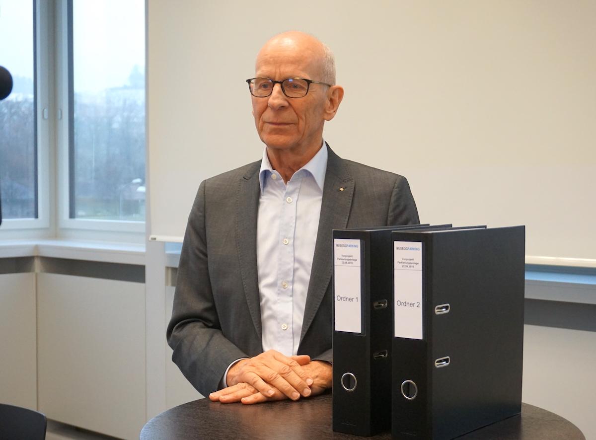 Fritz Studer, Verwaltungsratspräsident der Musegg Parking AG, sieht noch eine Chance für das Projekt.