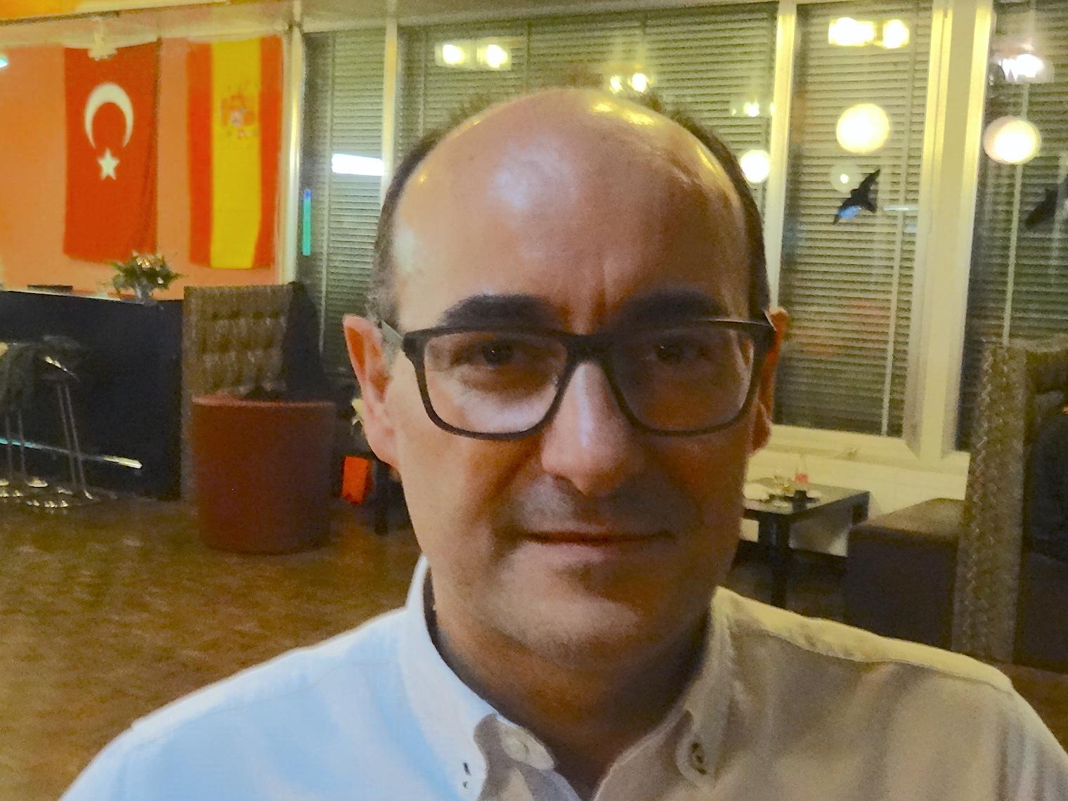Toni Rodriguez, Präsident des Centro Español.