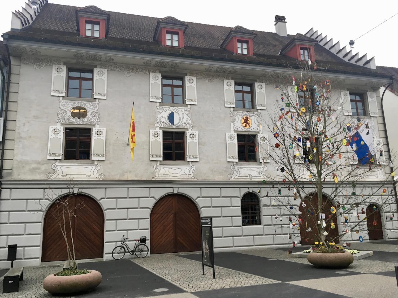 Das ehemalige Rathaus im Städtli Willisau.