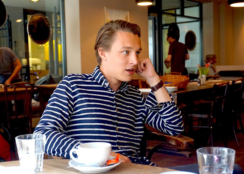 Yannick Gauch ist mit 23 Jahren der jüngste Grossstadtrat in Luzern.