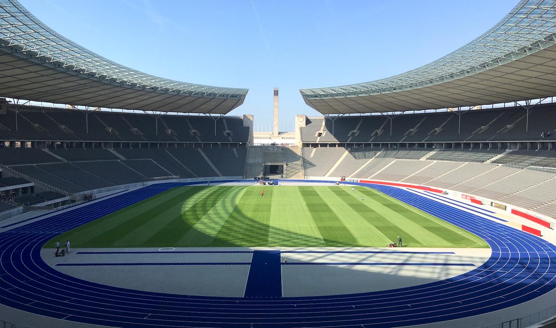 Das Olympiastadion in Berlin ist seit zehn Jahren die Heimstätte des Luzerners Fabian Lustenberger.
