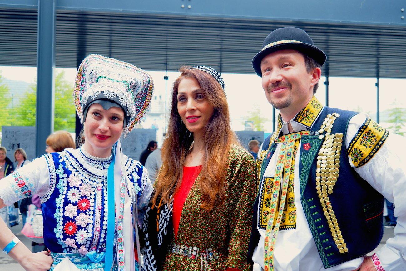 Der Iran, eingerahmt von der Slowakei. (Bild: jav)