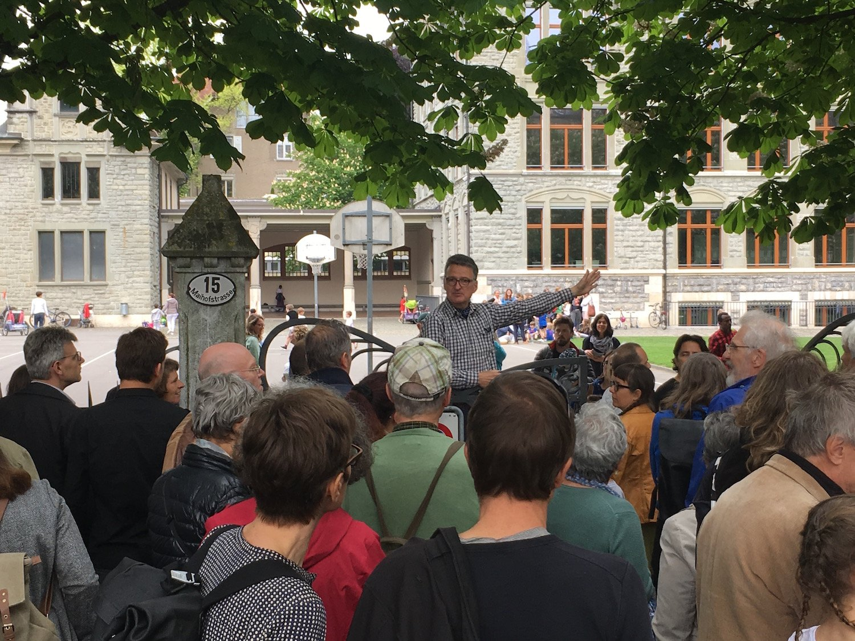 Felix Kaufmann organisierte die Aktion.