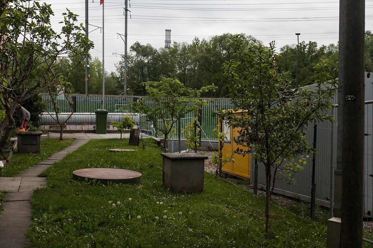 Auch ein Garten gehört zum Haus in Reussbühl, das Thomas Ottiger gehört.