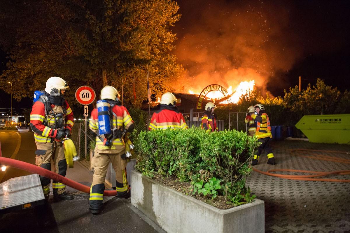 Im August brannte das spanische Kulturzentrum ab.
