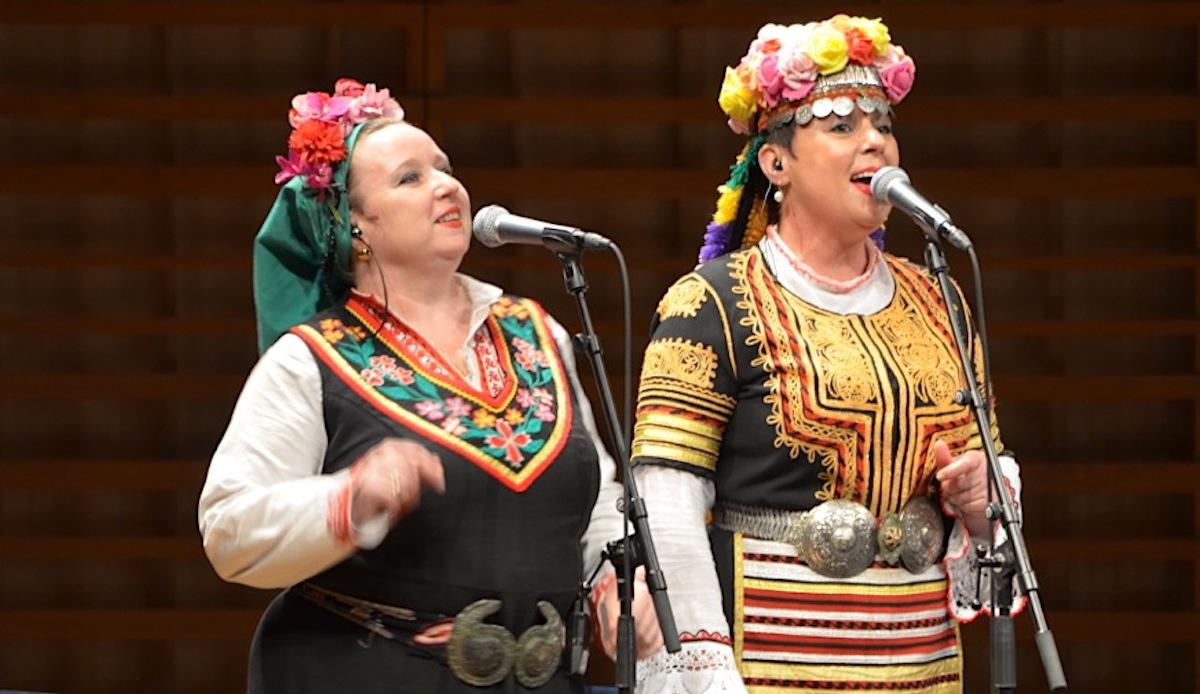 Sorgten für Melancholie: die bulgarischen Sängerinnen in der Wedding & Funeral Band.