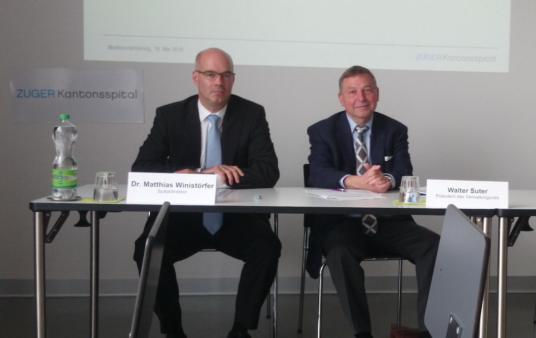 Auf Matthias Winistörfer und Walter Suter kommen im aktuellen Jahr erquickliche Mindererträge zu.