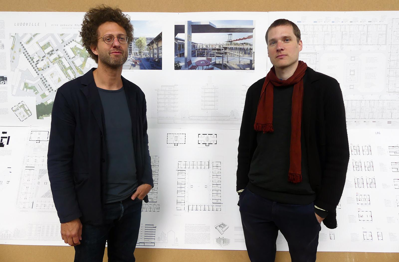 Die Luzerner Gabriel Gmür und Samuel Tobler sind mit ihrem Projekt «Ludoville» dürfen ebenfalls mitreden.