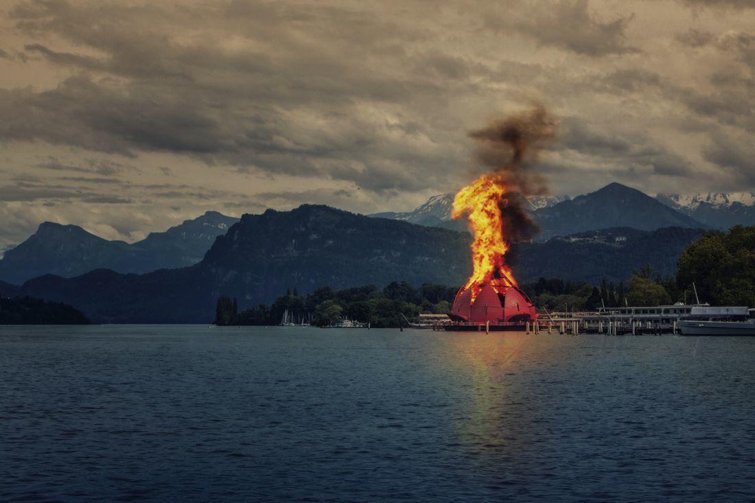 Ein Rückbau wäre teuer, verbrennen relativ schwierig. Wir hätten da eine andere Idee.