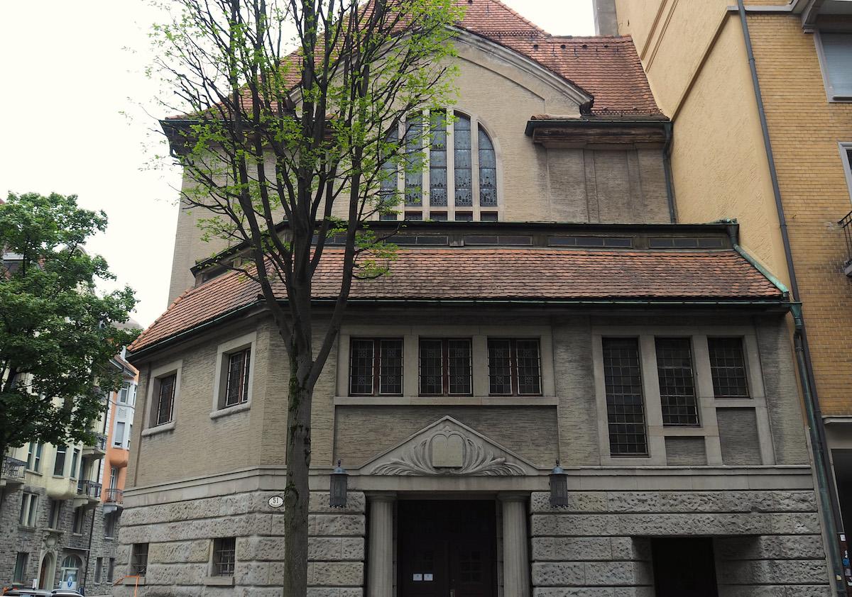 Die Synagoge im Bruchquartier wurde 1912 erbaut.