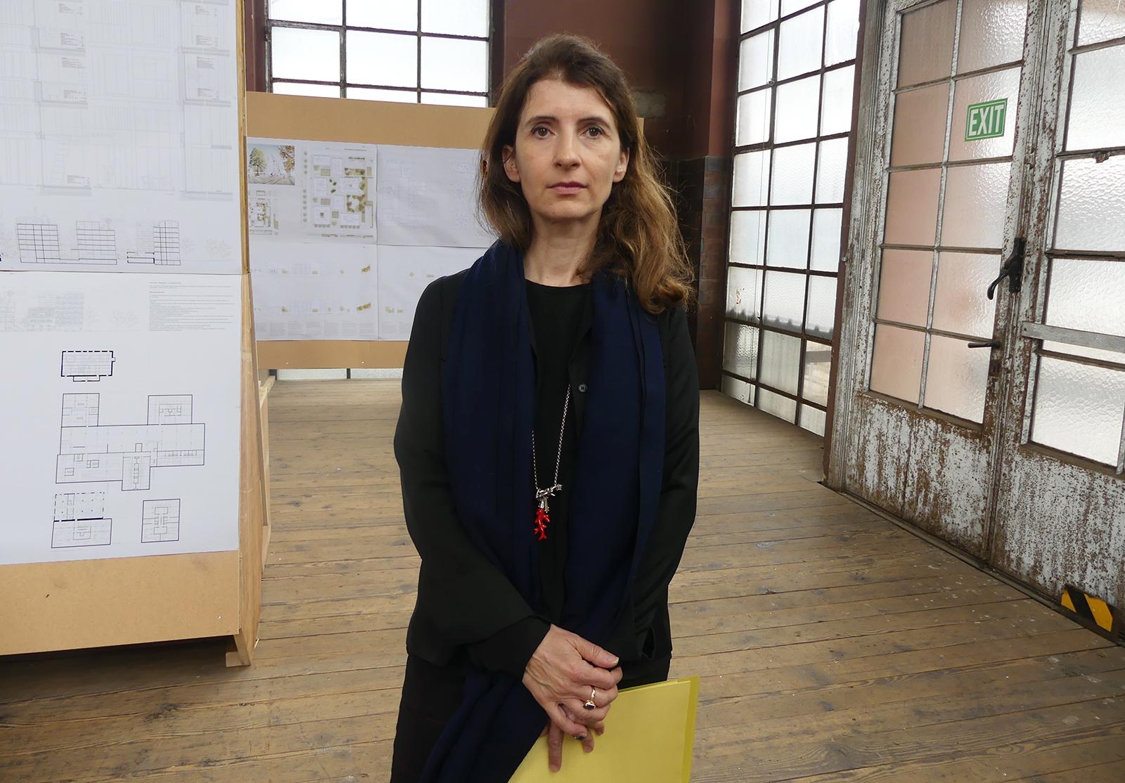 Die Vertreterin des Fachpreisgerichts Ilinca Manaila.