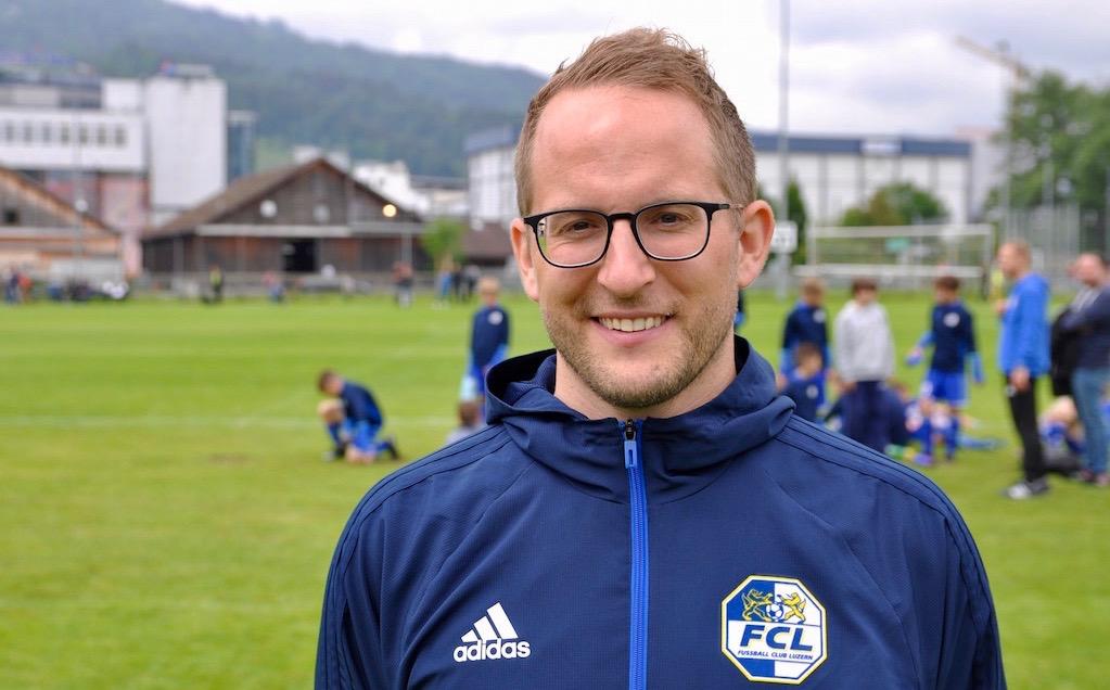 Nachwuchstrainer Christian Nyffeler