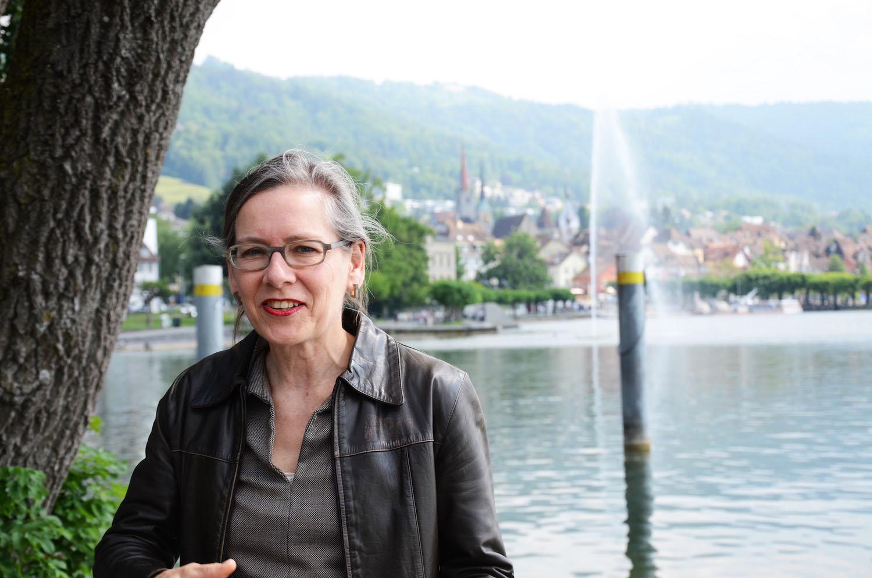 Regula Kaiser,Beauftragte für Stadtentwicklung und Stadtmarketing in Zug, stört sich daran, dass in Zug immer noch mit schöner Landschaft und tiefen Steuern geworben wird.