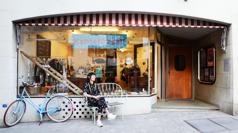 Lydia Trost von der Schneiderei Kantenfüessli sieht für ihren Laden wenig Potential, wenn es um Touristen geht.