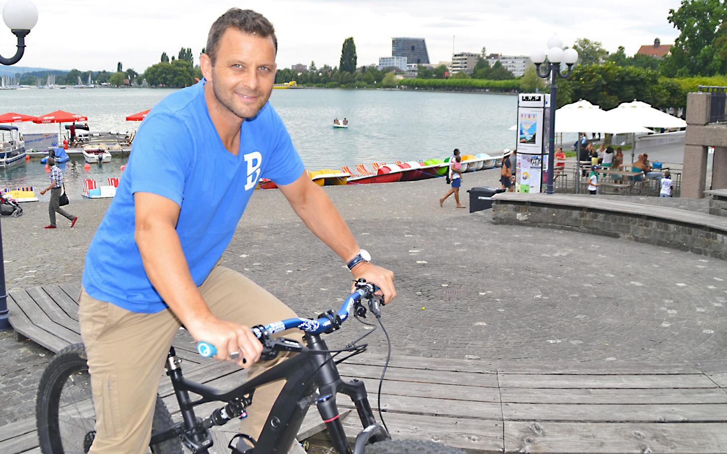 Daniel Schärer. Mit Zug Sports will er zurück zu den Ursprüngen des Events.