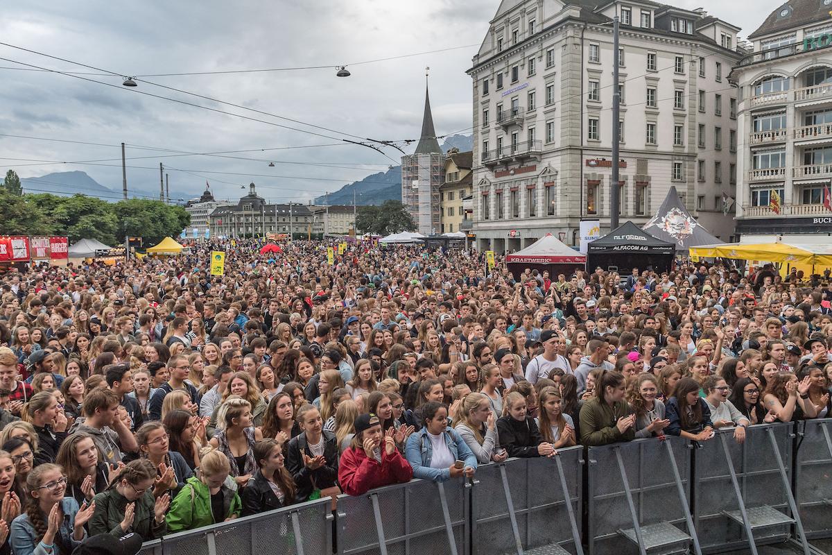 Im vergangenen Jahr besuchten 70'000 Besucher das Luzerner Fest.